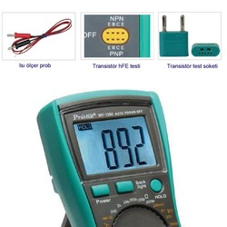 Proskit MT-1280 Dijital Multimetre - Thumbnail