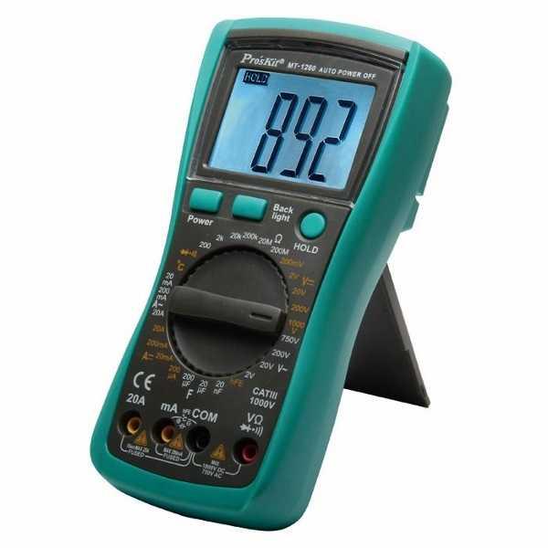 Proskit MT-1280 Dijital Multimetre
