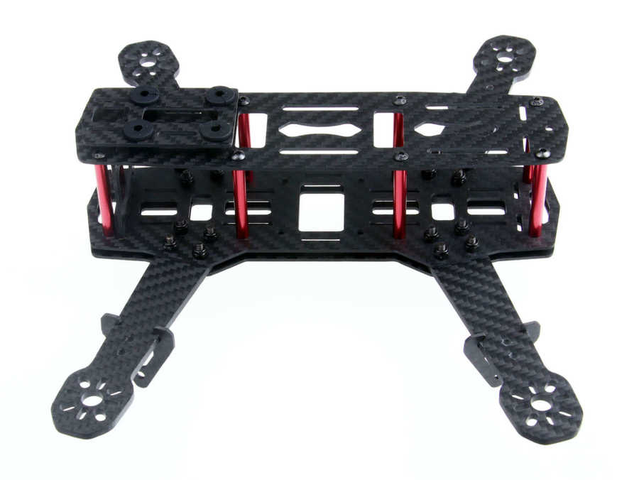 QAV250 Full Carbon Fiber 250mm Quadcopter Drone Gövdesi ZMR250