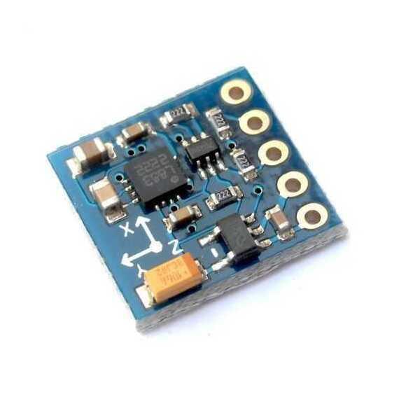Açı - İvme - Jireskop - QMC5883 3 Eksen Pusula Sensörü
