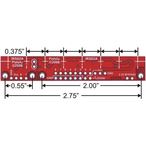 QTR-8A Çizgi Sensörü (Analog)
