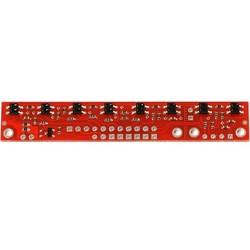 QTR-8RC 8′li Kızılötesi Sensör - Dijital - Thumbnail