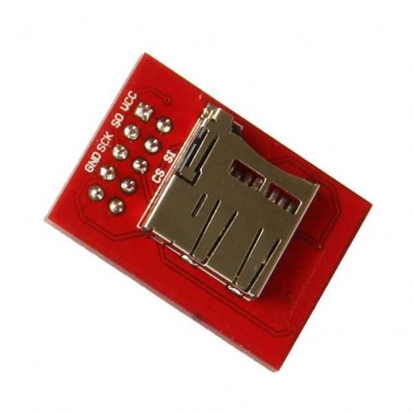 Ramps Mikro SD Modül - Kırmızı