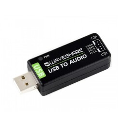 Waveshare - Raspberry Pi / Jetson Nano İçin USB Ses Kartı