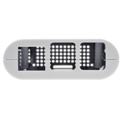 Raspberry Pi 3/2/B+ Beyaz Case - Thumbnail