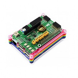 Raspberry Pi 3/2/B+ Gökkuşağı Case - Thumbnail