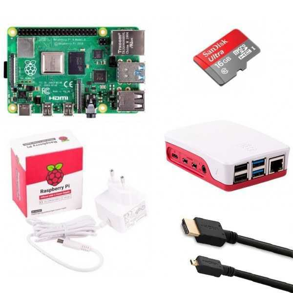 Raspberry Pi 4 Model B - 4GB Mini Kit