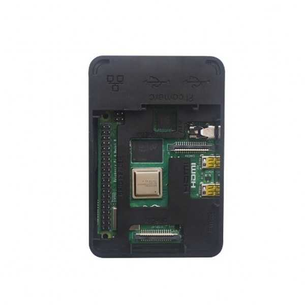 Raspberry Pi 4 Siyah Muhafaza Kutusu