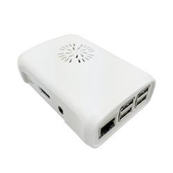 Raspberry Pi B+/2/3 Fan Case - Beyaz - Thumbnail
