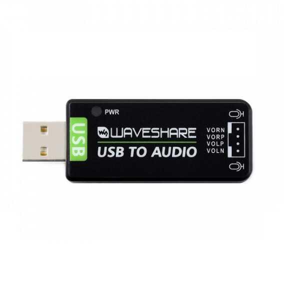 Raspberry Pi / Jetson Nano İçin USB Ses Kartı