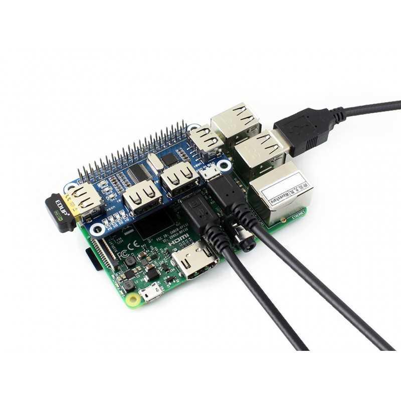 Raspberry Pi USB Hub 4 Port