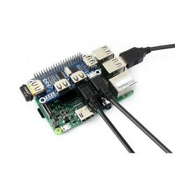 Raspberry Pi USB Hub 4 Port - Thumbnail