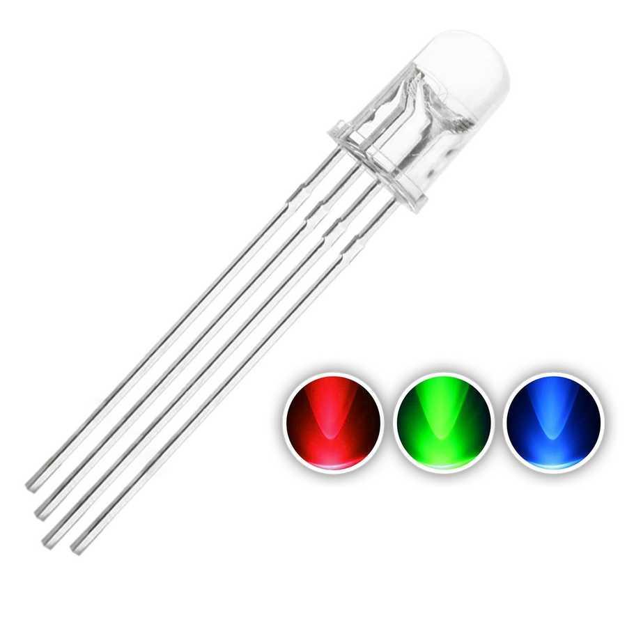 Led - RGB LED 5mm-Ortak Anot