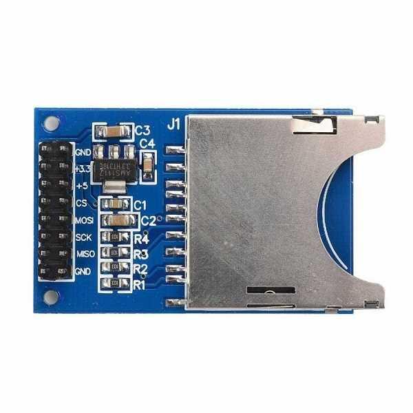 Arduino Uyumlu Sensör - Modül - SD Kart Modülü