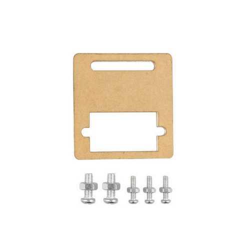 Servo Motor ve Aksesuarları - Sg90 Servo Motor Bağlantı Aparatı