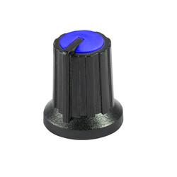 Siyah Potansiyometre Düğmesi (Mavi Başlı) - Thumbnail