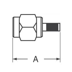 SMA 50 Ohm Konnektör - Thumbnail