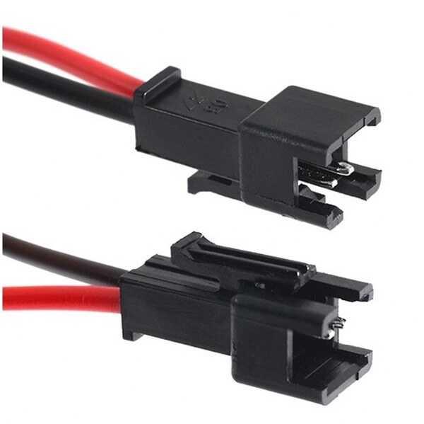 Pil - Batarya Bağlantı Kablosu - Soket Konnektör No 5-3 JST SMR-2P