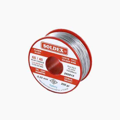 Soldex 0.5mm 200gr Lehim Teli