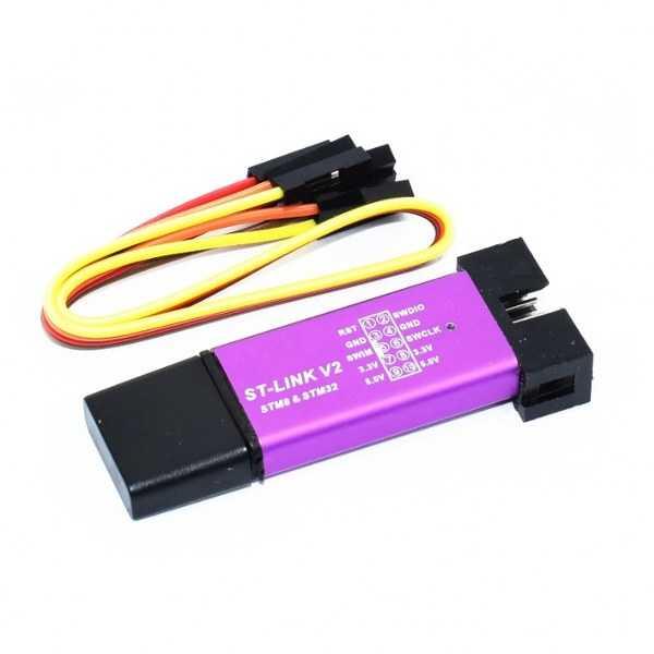 Diğer - ST-Link V2 Mini Programlayıcı-STM32 ve STM8