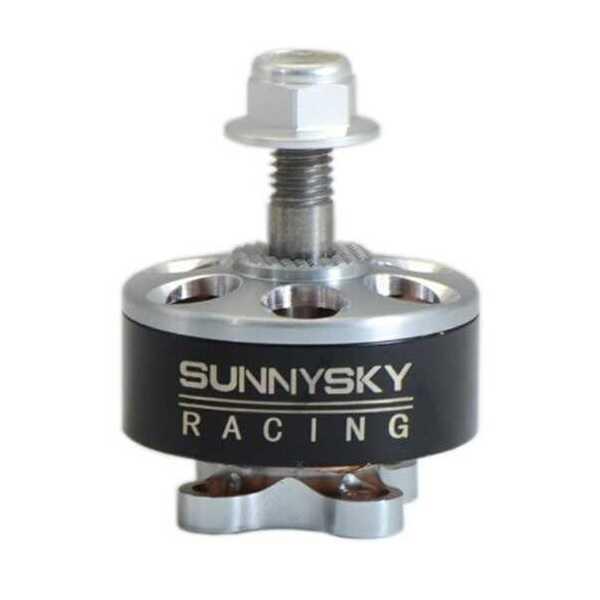 Sunnysky R2207 2207 Fırçasız Motor 1800KV 3-6S CCW - (RC Drone FPV Yarış İçin Kullanılabilir)