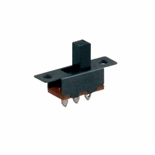 Sürgülü On/Off Mini Kulaklı Switch (IC-207)