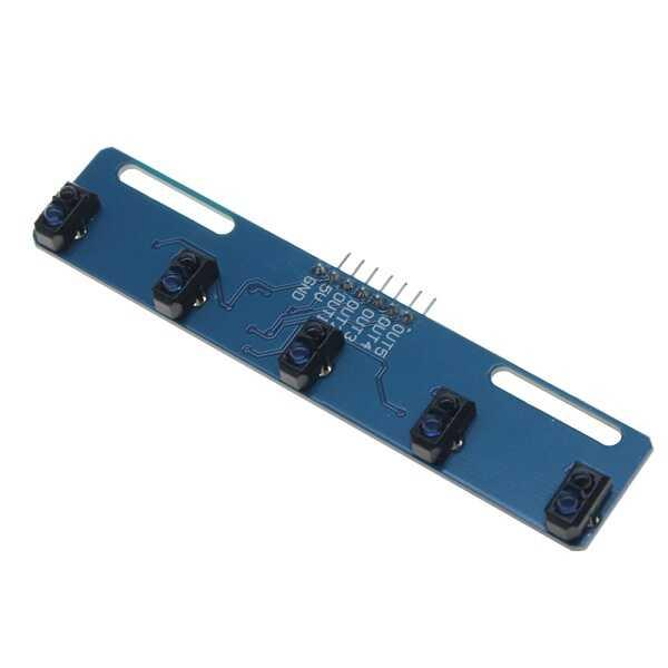 TCRT5000 5'li Çizgi İzleyen Sensör Kartı