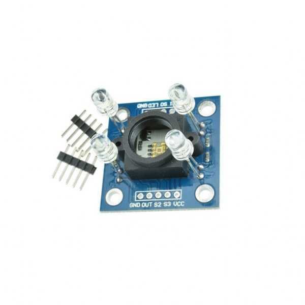 Işık - Renk - Alev - TCS3200-TCS230 Renk Tanıma Sensörü Kartı/GY-31