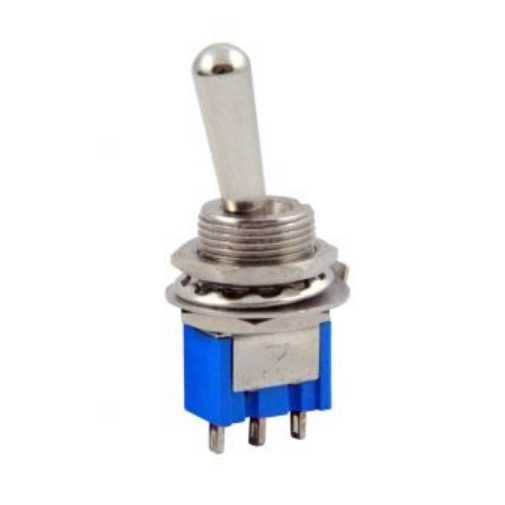 Switch - Toggle Switch 3P (MTS-103L) ON-OFF-ON Ø12mm