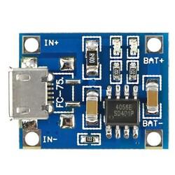 TP4056 1A Lityum Sarj Modülü - Thumbnail