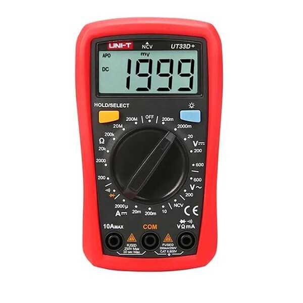 Unit UT 33D+ Dijital Multimetre