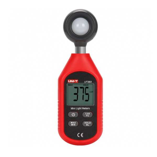 Unit UT 383 Mini Lüxmetre (Işık Ölçer)