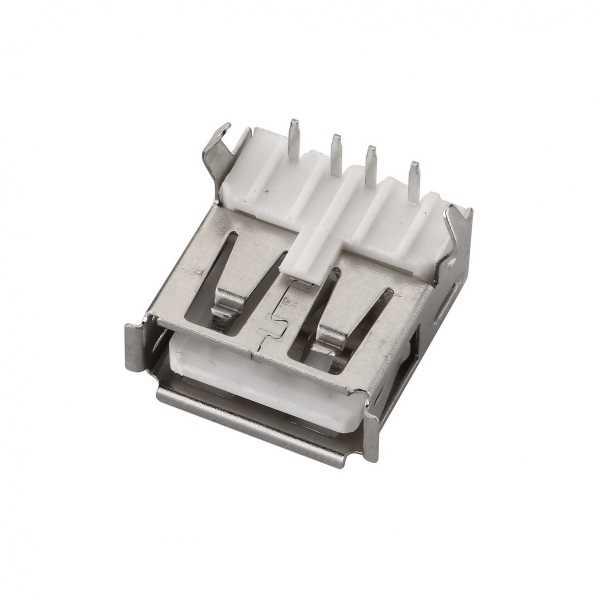 Konnektör - USB A Şase Tip Dişi Konnektör