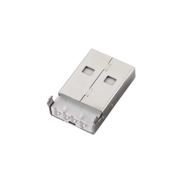 Konnektör - USB A Şase Tip Erkek Konnektör