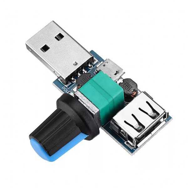 USB Fan Hız Kontrolcüsü