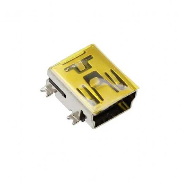 Konnektör - USB Mini B 5 Pin R/A Smd