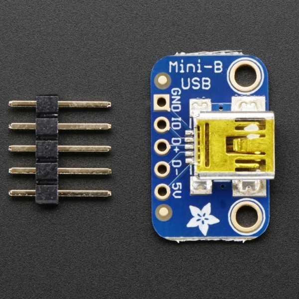 USB Mini-B Breakout Kart