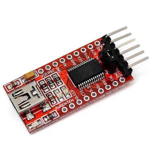 Çevirici - Dönüştürücü - USB-Uart Dönüştürücü Kartı 5V/3V3 - FT232RL