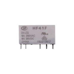 V23092 Tipi 24V Yassı Röle - HF41F-24VDC - Thumbnail
