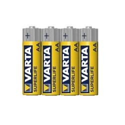 VARTA SUPERLIFE 1.5V Pil AA Kalem 4'lü Paket - Thumbnail