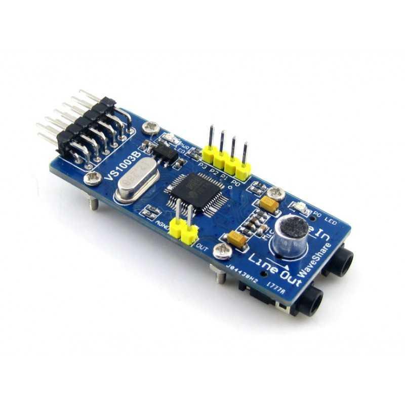 VS1003B MP3 Kartı
