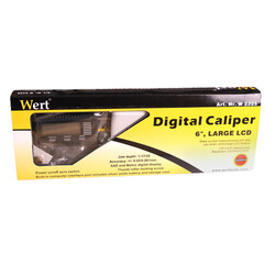 WERT 2325 Dijital Kumpas (150mm) - Thumbnail