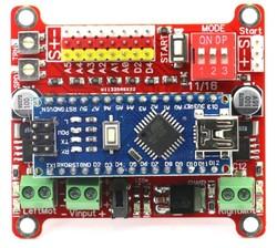 Wing Arduino Nano Robot Kartı (Çizgi İzleyen ve Minisumo Robot'a Özel) - Thumbnail