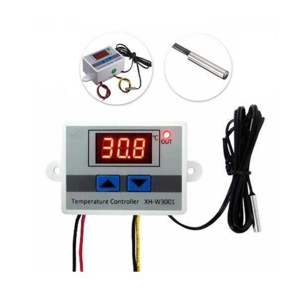 Termostat - XH-W3001 220V AC Dijital Termostat