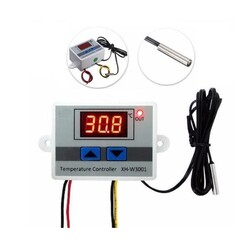 XH-W3001 220V AC Dijital Termostat - Thumbnail