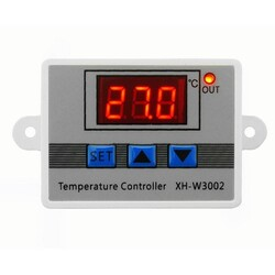 XH-W3002 220V AC Dijital Termostat - Thumbnail