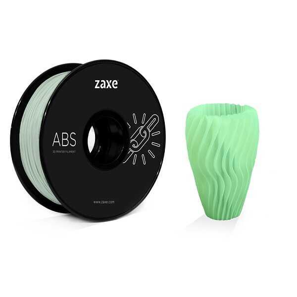 Zaxe 1.75mm ABS Filament - Parlak Yeşil