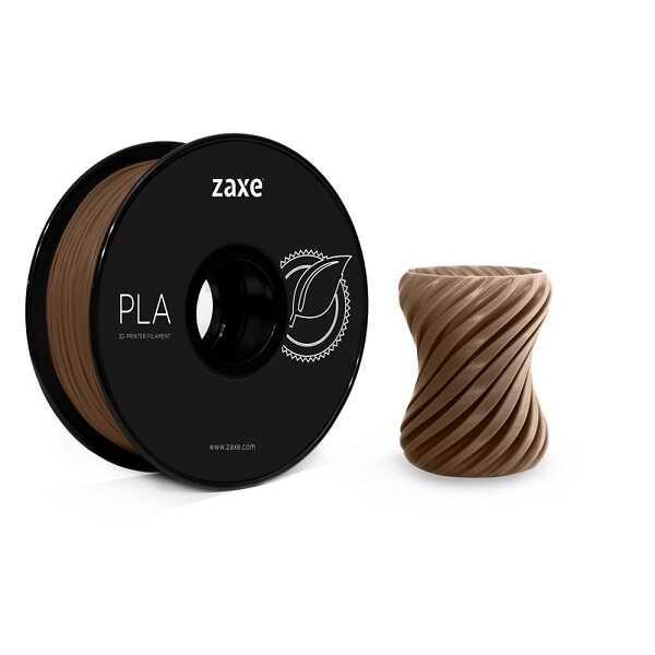 Zaxe 1.75mm PLA Filament - Kahverengi