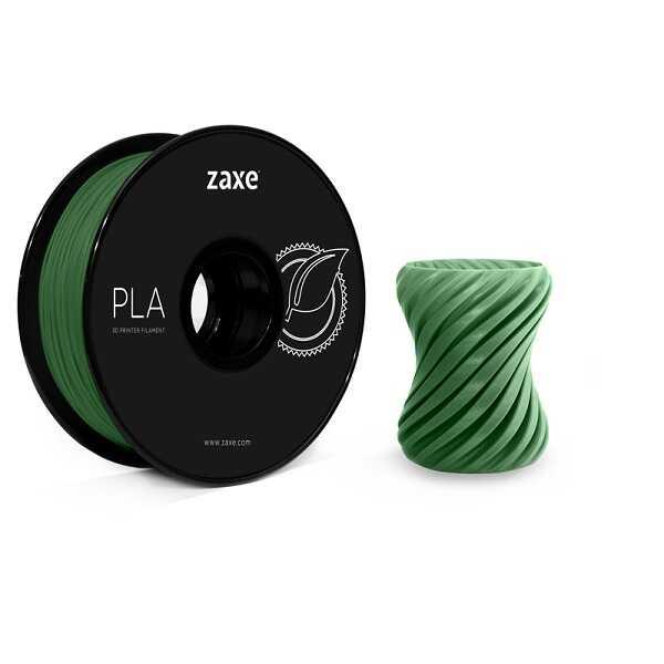 Zaxe 1.75mm PLA Filament - Koyu Yeşil